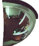 Quarter Dome Security Mirror